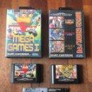 Videojuegos y Consolas: LOTE MEGA GAMES I + II MEGADRIVE SEGA. Lote 164910448