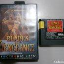 Videojuegos y Consolas: SEGA JUEGO RARO DIFICIL BLADES OF VENGEANCE. Lote 165211006