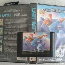 Videojuegos y Consolas: JUEGO SEGA MEGA DRIVE LAST BATTLE 1990 CON CAJA, SIN INSTRUCCIONES.. Lote 165655540