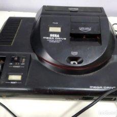 Videojuegos y Consolas: ANTIGUA CONSOLA SEGA MEGA DRIVE CON ADAPTADOR PARA SEGA MASTE SYSTEM . Lote 165981858