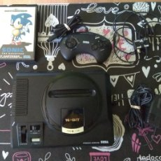 Videojuegos y Consolas: SEGA MEGADRIVE, CON CABLES,UN MANDO Y SONIC(COMPLETO). Lote 166154672