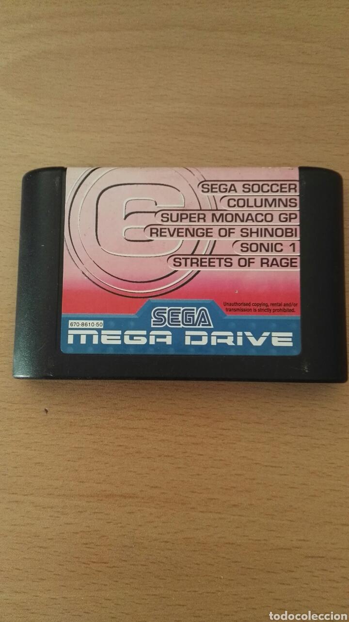 CARTUCHO 6. SEGA MEGA DRIVE (Juguetes - Videojuegos y Consolas - Sega - MegaDrive)