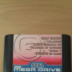 Videojuegos y Consolas: CARTUCHO 6. SEGA MEGA DRIVE. Lote 166299718