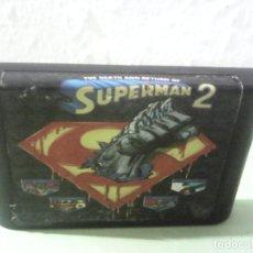 Videojuegos y Consolas: SUPERMAN 2 PARA SEGA MEGADRIVE DIFICILISIMO Y RARO DE VER Y ENCONTRAR. Lote 167623104