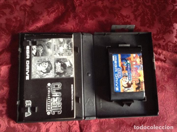 Videojuegos y Consolas: Sega mega drive Classic collection Completo - Foto 4 - 168216796