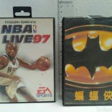 Videojuegos y Consolas: JUEGOS DE SEGA BATMAN NBA LIVE 97. Lote 168263185