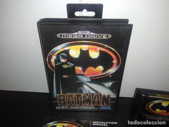 Videojuegos y Consolas: Juego sega megadrive batman bat man mega drive completo - Foto 2 - 168894476