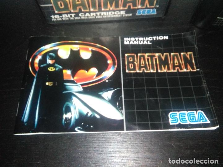 Videojuegos y Consolas: Juego sega megadrive batman bat man mega drive completo - Foto 3 - 168894476