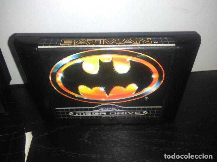 Videojuegos y Consolas: Juego sega megadrive batman bat man mega drive completo - Foto 4 - 168894476
