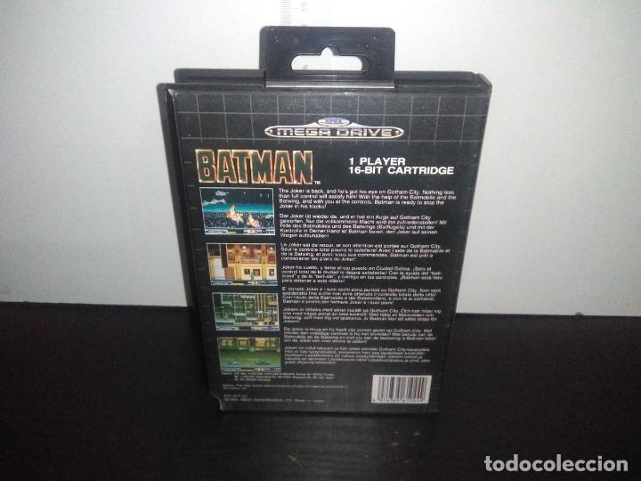 Videojuegos y Consolas: Juego sega megadrive batman bat man mega drive completo - Foto 5 - 168894476