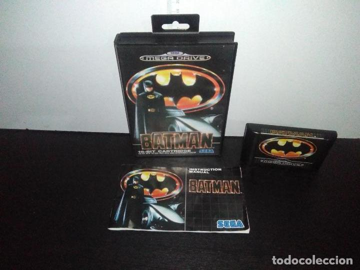 JUEGO SEGA MEGADRIVE BATMAN BAT MAN MEGA DRIVE COMPLETO (Juguetes - Videojuegos y Consolas - Sega - MegaDrive)