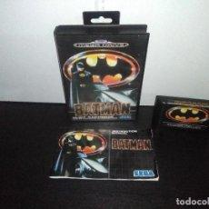 Videojuegos y Consolas: JUEGO SEGA MEGADRIVE BATMAN BAT MAN MEGA DRIVE COMPLETO. Lote 168894476