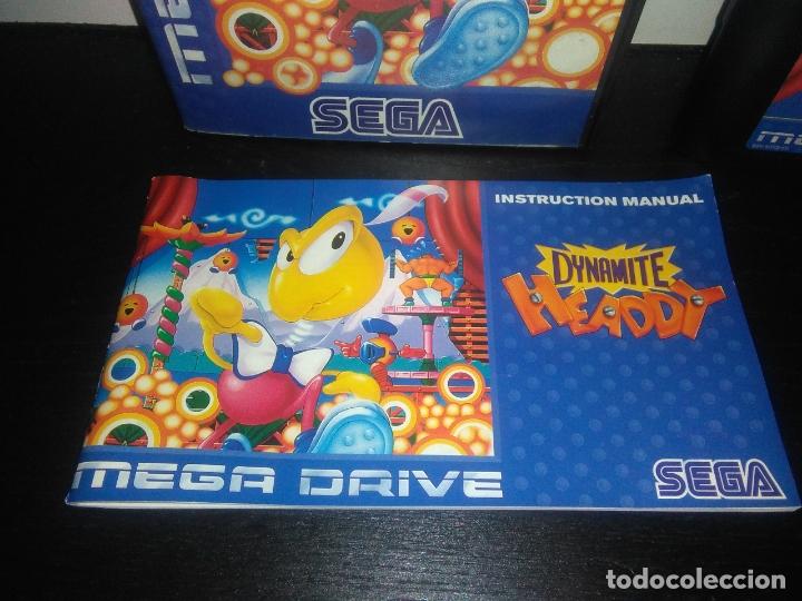Videojuegos y Consolas: Juego sega megadrive Dynamite headdy megadrive mega drive completo - Foto 2 - 168905540