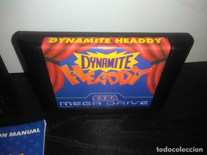 Videojuegos y Consolas: Juego sega megadrive Dynamite headdy megadrive mega drive completo - Foto 3 - 168905540