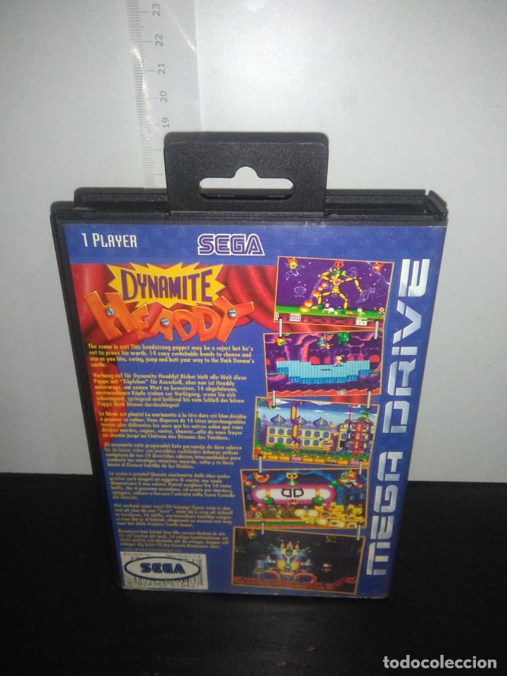 Videojuegos y Consolas: Juego sega megadrive Dynamite headdy megadrive mega drive completo - Foto 4 - 168905540