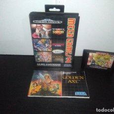 Videojuegos y Consolas: JUEGO SEGA MEGADRIVE MEGA GAMES 2 II STREETS OF RAGE REVENGE SHINOBI MEGA DRIVE . Lote 168916128