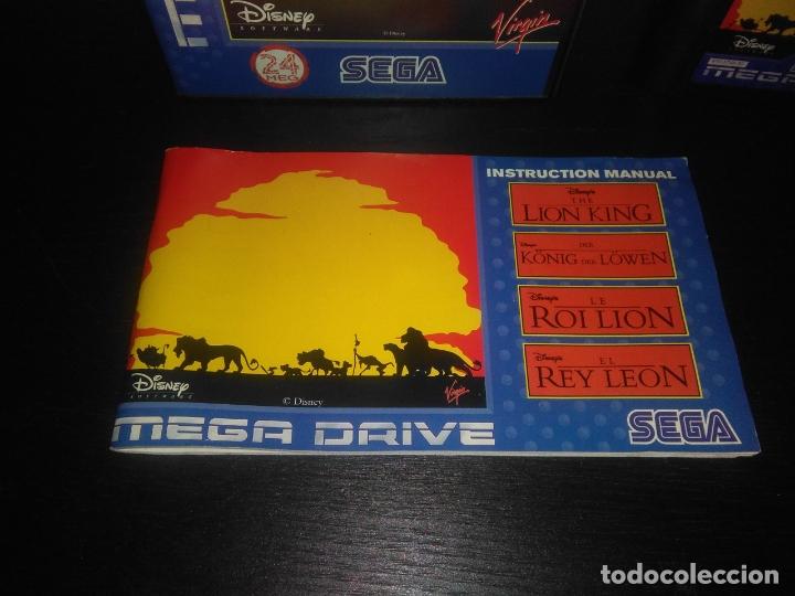 Videojuegos y Consolas: Juego sega megadrive el rey leon completo mega drive - Foto 2 - 168980896