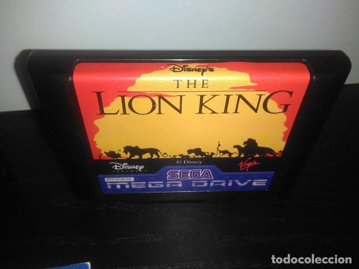 Videojuegos y Consolas: Juego sega megadrive el rey leon completo mega drive - Foto 3 - 168980896