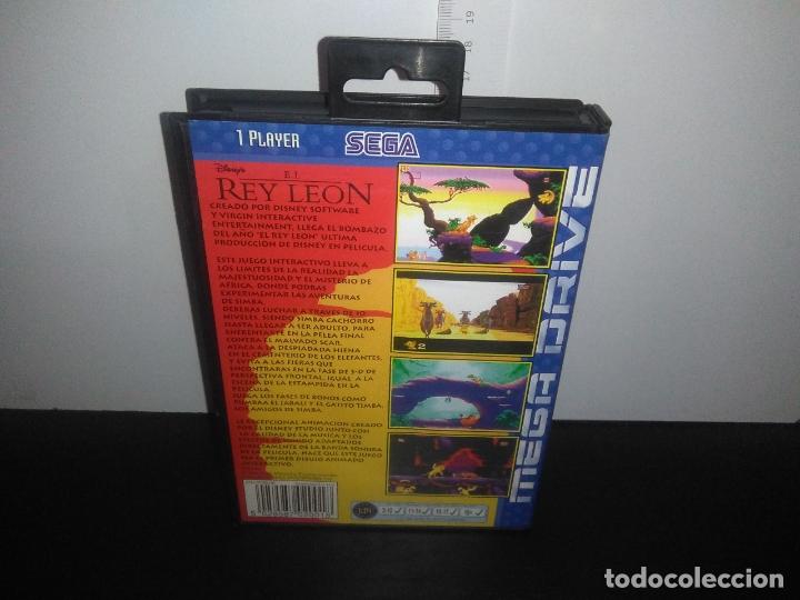Videojuegos y Consolas: Juego sega megadrive el rey leon completo mega drive - Foto 4 - 168980896