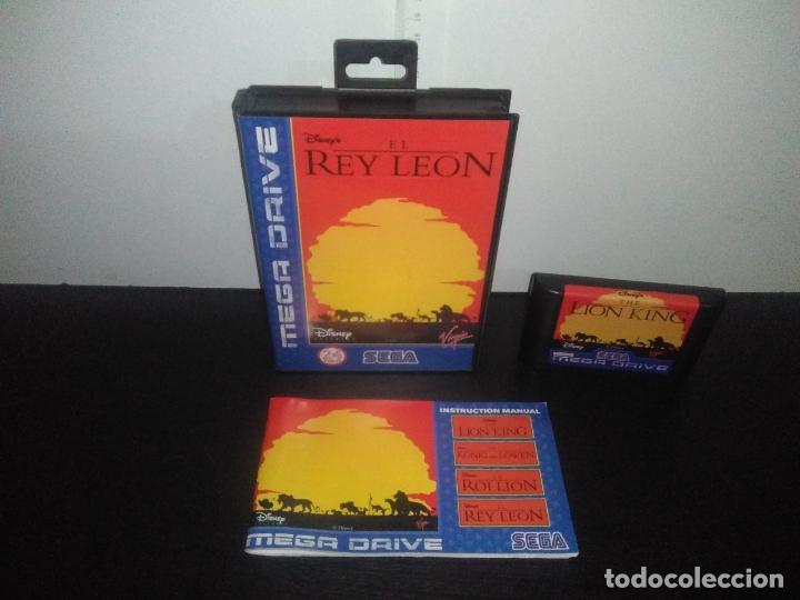 JUEGO SEGA MEGADRIVE EL REY LEON COMPLETO MEGA DRIVE (Juguetes - Videojuegos y Consolas - Sega - MegaDrive)