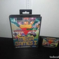 Videojuegos y Consolas: JUEGO SEGA MEGADRIVE MEGA GAMES 1 - SUPER HANG-ON - COLUMNS - WORLD CUP ITALIA 90 MEGA DRIVE. Lote 168981376