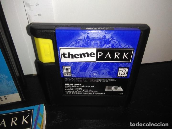 Videojuegos y Consolas: Juego sega megadrive THEME PARK completo mega drive - Foto 3 - 169015176