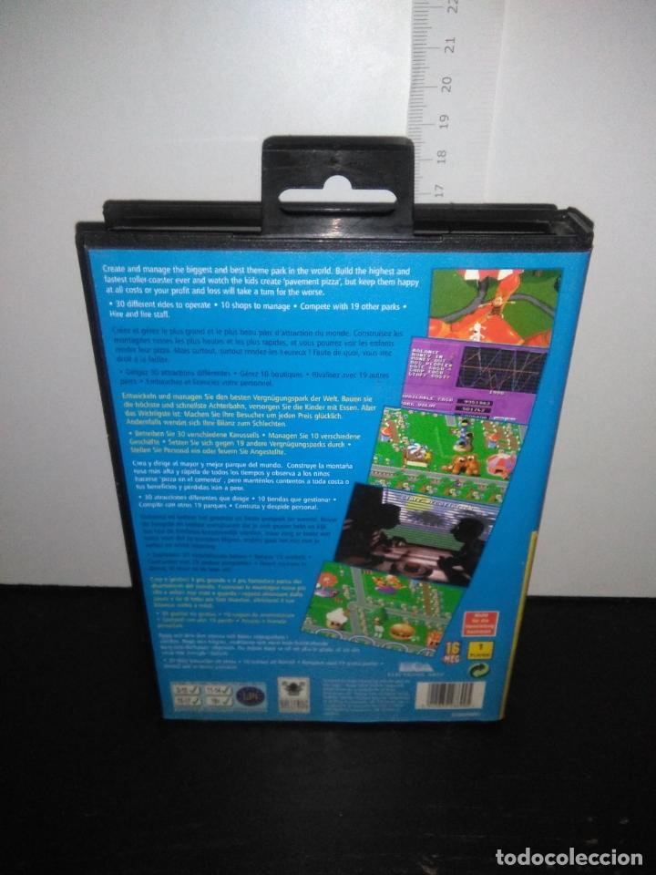 Videojuegos y Consolas: Juego sega megadrive THEME PARK completo mega drive - Foto 4 - 169015176