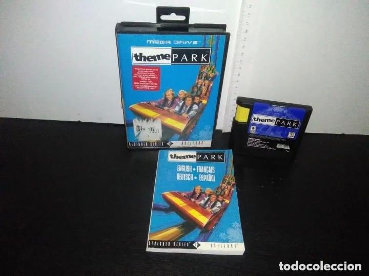 JUEGO SEGA MEGADRIVE THEME PARK COMPLETO MEGA DRIVE (Juguetes - Videojuegos y Consolas - Sega - MegaDrive)