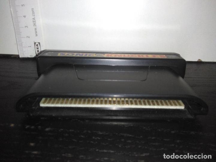Videojuegos y Consolas: Cartucho Juego sega megadrive SONIC & KNUCKLES mega drive - Foto 4 - 169052968