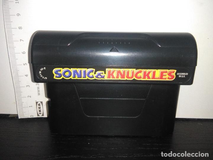 CARTUCHO JUEGO SEGA MEGADRIVE SONIC & KNUCKLES MEGA DRIVE (Juguetes - Videojuegos y Consolas - Sega - MegaDrive)