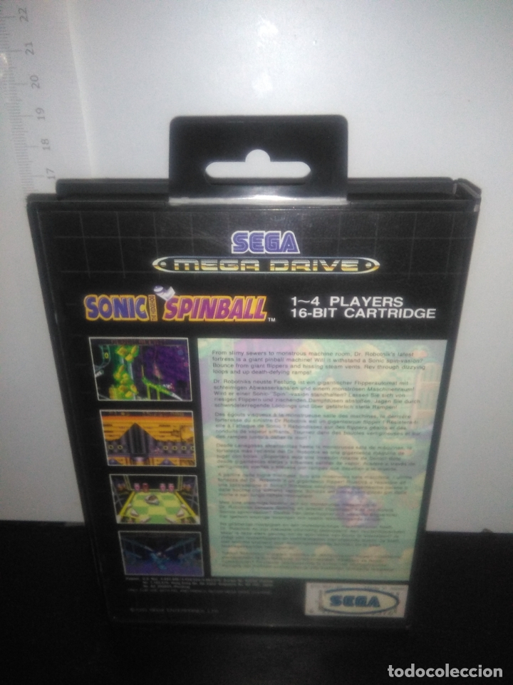 Videojuegos y Consolas: Juego sega megadrive sonic spinball completo mega drive - Foto 5 - 169161860