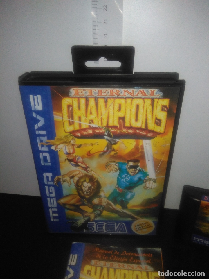 Videojuegos y Consolas: Juego sega megadrive Eternal Champions edicion especial completo mega drive - Foto 2 - 169162936