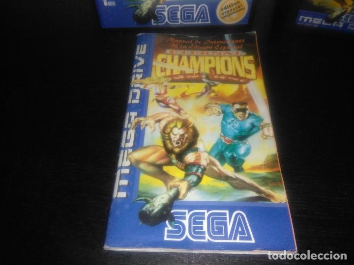 Videojuegos y Consolas: Juego sega megadrive Eternal Champions edicion especial completo mega drive - Foto 3 - 169162936
