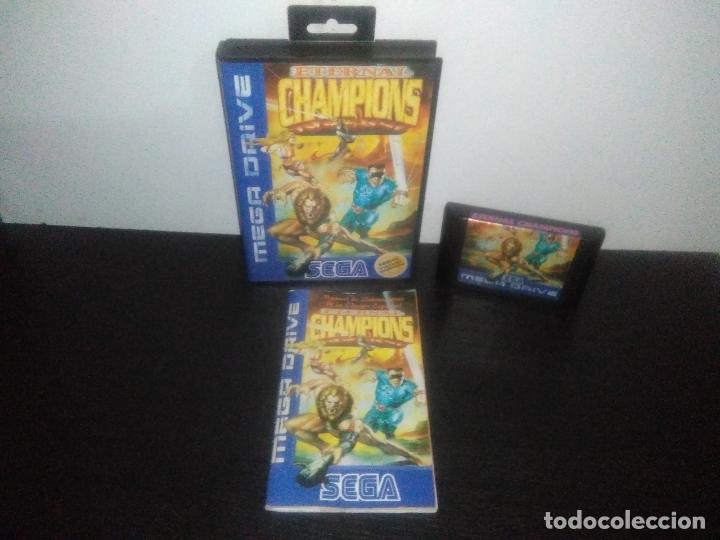 JUEGO SEGA MEGADRIVE ETERNAL CHAMPIONS EDICION ESPECIAL COMPLETO MEGA DRIVE (Juguetes - Videojuegos y Consolas - Sega - MegaDrive)