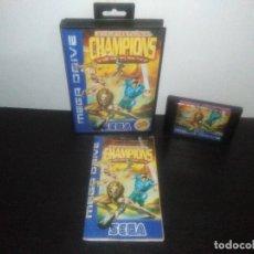 Videojuegos y Consolas: JUEGO SEGA MEGADRIVE ETERNAL CHAMPIONS EDICION ESPECIAL COMPLETO MEGA DRIVE. Lote 169162936