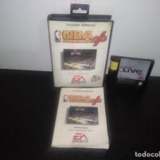 Videojuegos y Consolas: JUEGO SEGA MEGADRIVE NBA LIVE 96 COMPLETO MEGA DRIVE. Lote 169167588