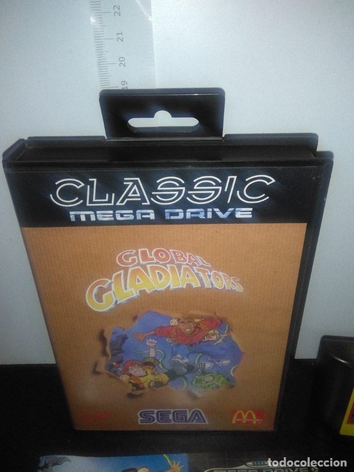 Videojuegos y Consolas: Juego sega megadrive Global gladiators completo mega drive - Foto 2 - 169168144