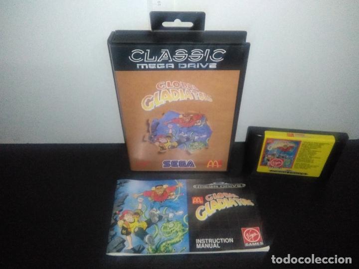 JUEGO SEGA MEGADRIVE GLOBAL GLADIATORS COMPLETO MEGA DRIVE (Juguetes - Videojuegos y Consolas - Sega - MegaDrive)