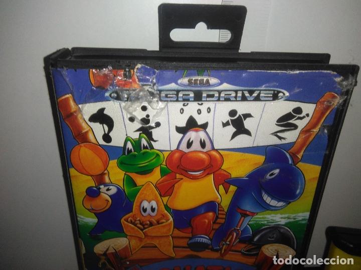 Videojuegos y Consolas: Juego sega megadrive Aquatic games megadrive completo mega drive - Foto 3 - 169181200