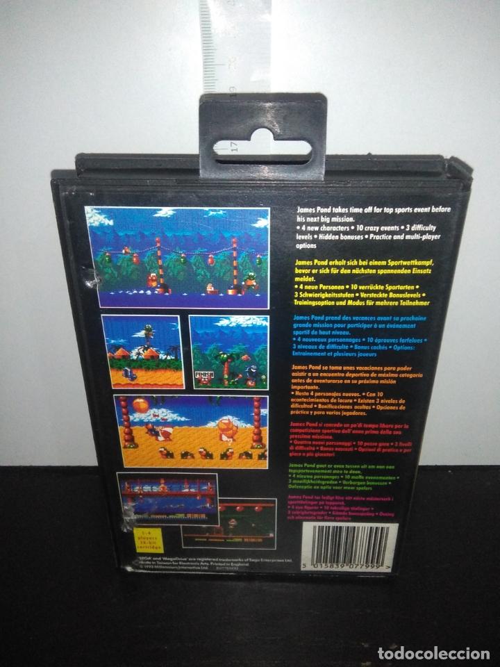 Videojuegos y Consolas: Juego sega megadrive Aquatic games megadrive completo mega drive - Foto 7 - 169181200