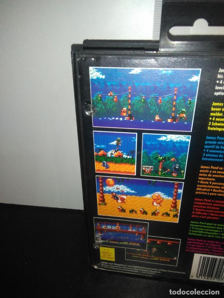Videojuegos y Consolas: Juego sega megadrive Aquatic games megadrive completo mega drive - Foto 8 - 169181200
