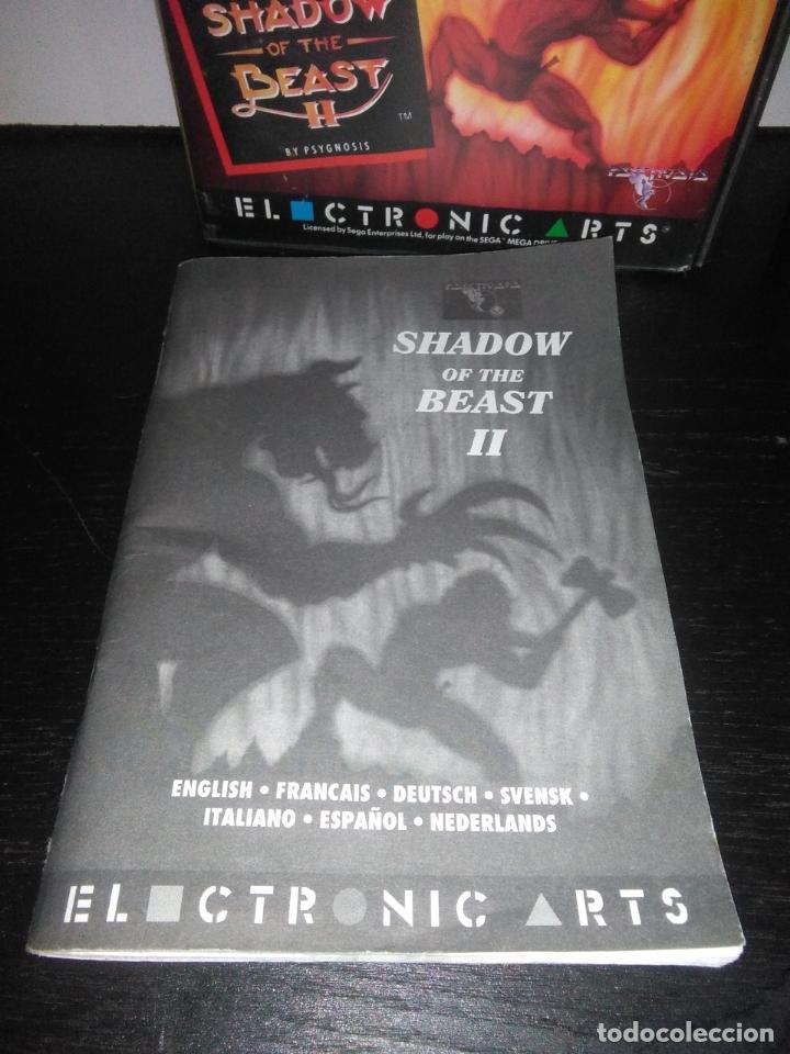 Videojuegos y Consolas: Juego sega megadrive Shadow of the beast 2 II mega drive completo - Foto 3 - 169204556