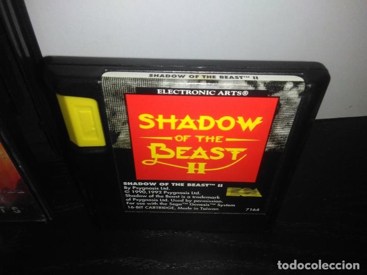 Videojuegos y Consolas: Juego sega megadrive Shadow of the beast 2 II mega drive completo - Foto 4 - 169204556