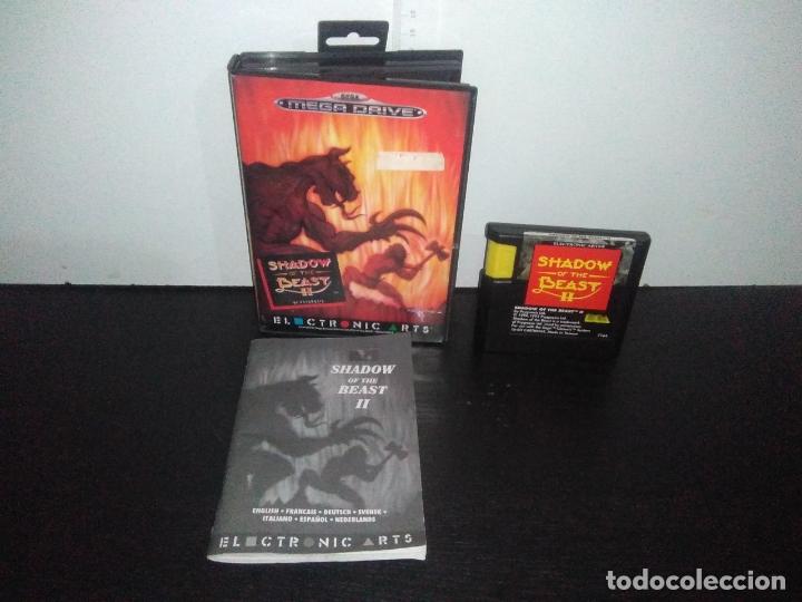 JUEGO SEGA MEGADRIVE SHADOW OF THE BEAST 2 II MEGA DRIVE COMPLETO (Juguetes - Videojuegos y Consolas - Sega - MegaDrive)