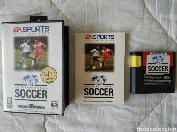 FIFA INTERNATIONAL SOCCER MEGADRIVE (Juguetes - Videojuegos y Consolas - Sega - MegaDrive)