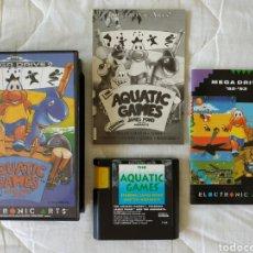 Videojuegos y Consolas: AQUATIC GAMES MEGADRIVE. Lote 169413493