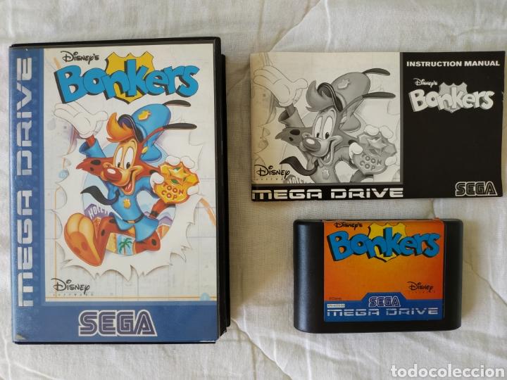 BONKERS MEGADRIVE (Juguetes - Videojuegos y Consolas - Sega - MegaDrive)