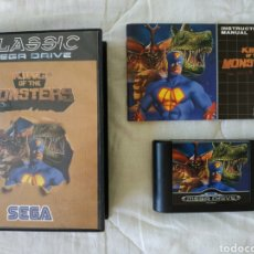 Videojuegos y Consolas: KING OF THE MONSTERS MEGADRIVE. Lote 169451872