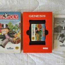 Videojuegos y Consolas: MONOPOLY GENESIS (MEGADRIVE). Lote 169453044