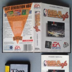 Videojuegos y Consolas: SEGA MEGA DRIVE NBA LIVE 96 EA SPORTS COMPLETO CAJA Y MANUAL BOXED CIB PAL R9230. Lote 169566104